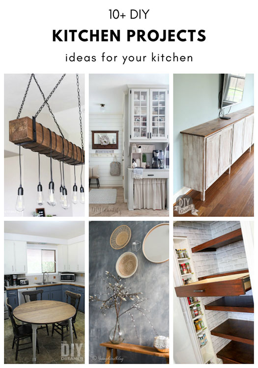 10 Diy Kitchen Projects Ideas For Your Kitchen The Diy Dreamer