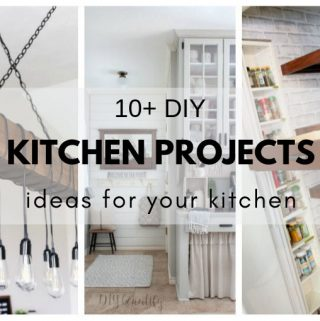 DIY Kitchen Projects. Ideas for your kitchen.