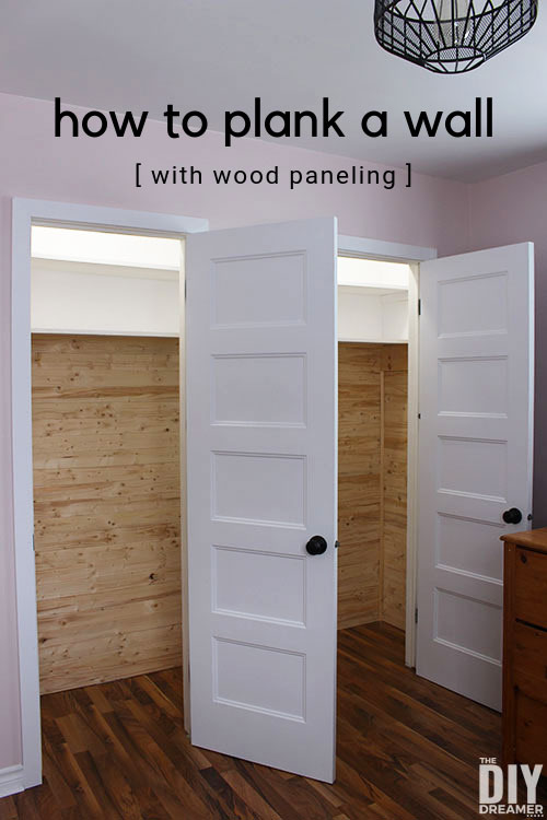 How to install wood paneling on a wall.