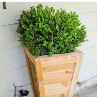 DIY Cedar Planter Box Tutorial