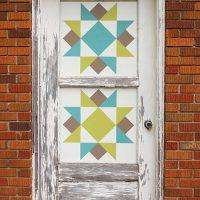 How to Make a Barn Quilt Door