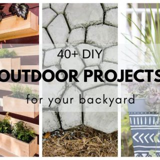 DIY Outdoor projects to help make your backyard pretty,