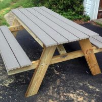 How to Build a Picnic Table in Just One Day | Simple DIY Tutorial