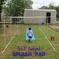DIY Splash Pad for Summer Fun, Year After Year!
