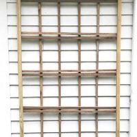 How To Build A Simple Custom Sized Wood Trellis