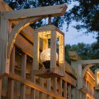 Garden screen trellis DIY, Lanterns solar light, knock off trellis free plans