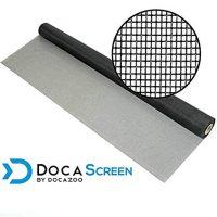 "DocaScreen Standard Window Screen Roll – 36"" x 100' Fiberglass Screen Roll – Window, Door and Patio Screen – Insect Screen // Fiberglass Screening // Screen Replacement // Window Screens"