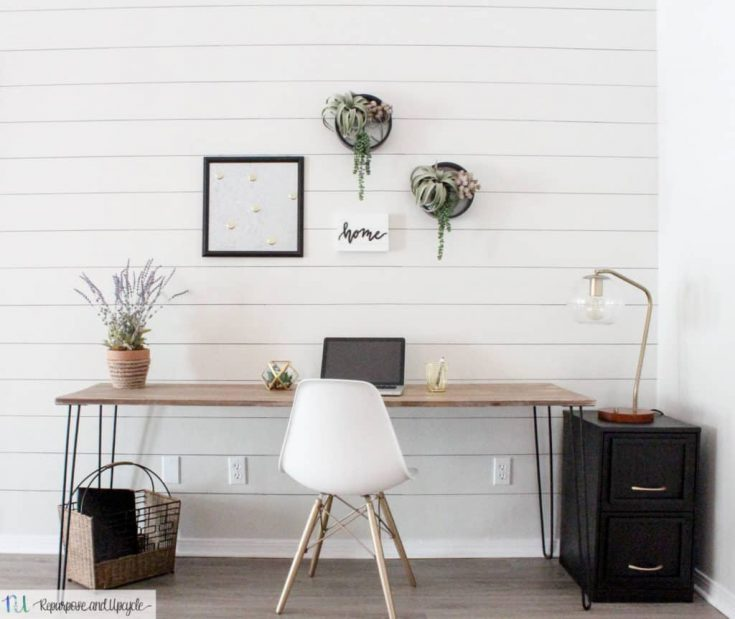 DIY Hairpin Leg Table Anyone Can Create