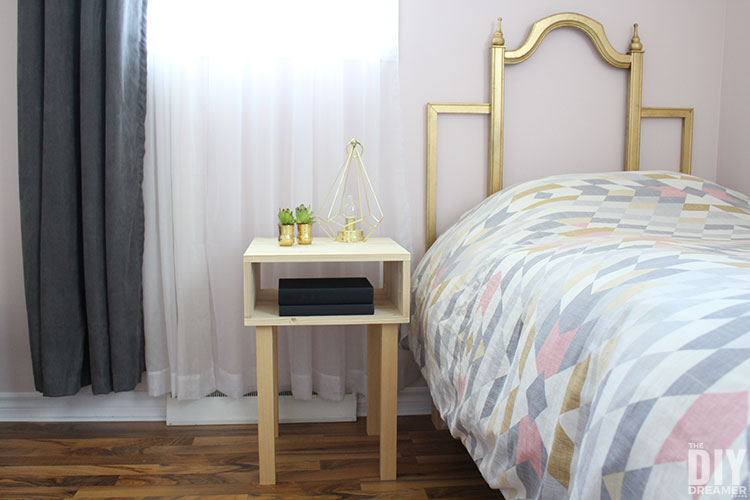 How To Build A Nightstand For Under 40 The Diy Dreamer