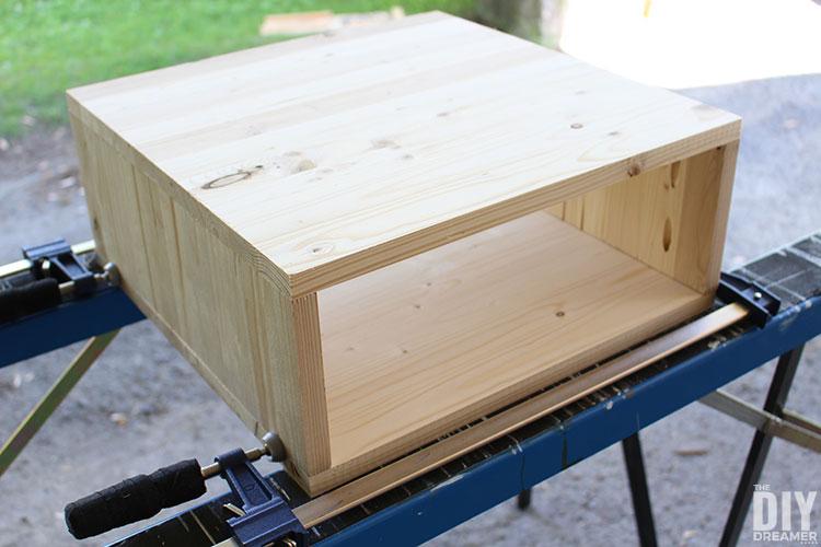 Box for nightstand.