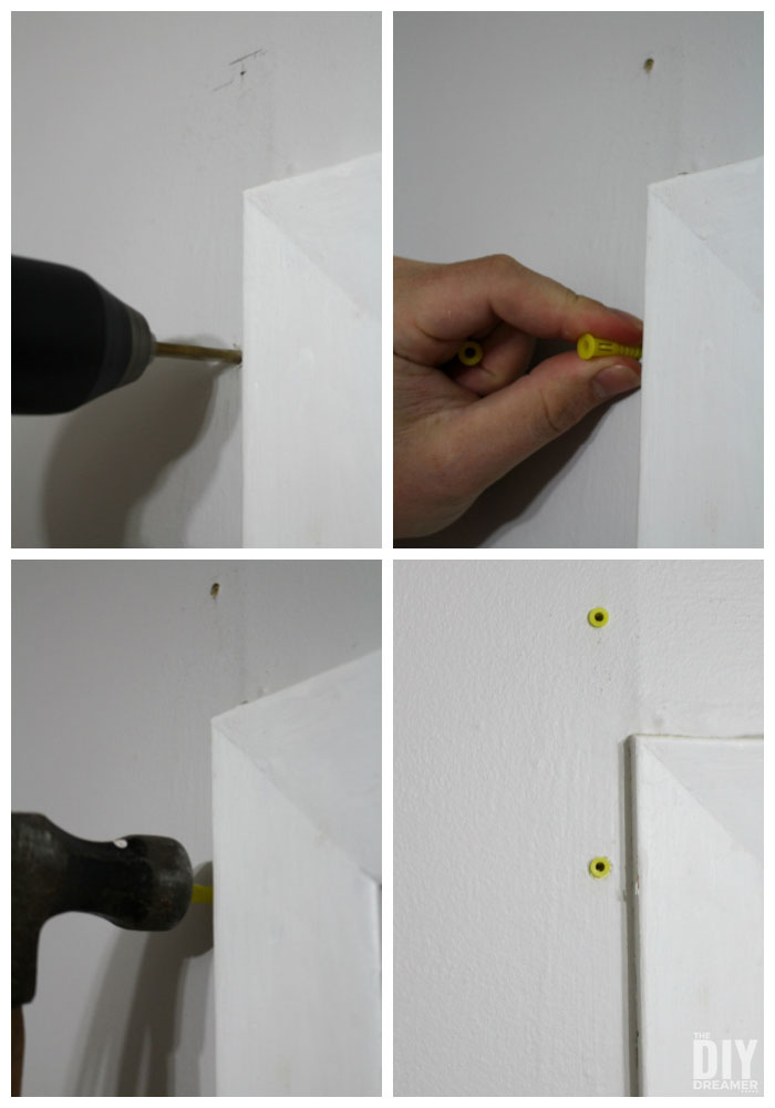 How to install drywall plugs.