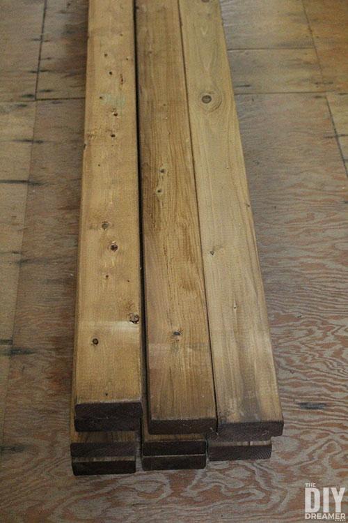 2x4s treated lumber