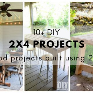 DIY 2x4 Projects. 10+ wood projects built using only 2x4s.