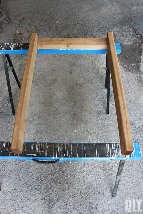 How to make legs for a table.