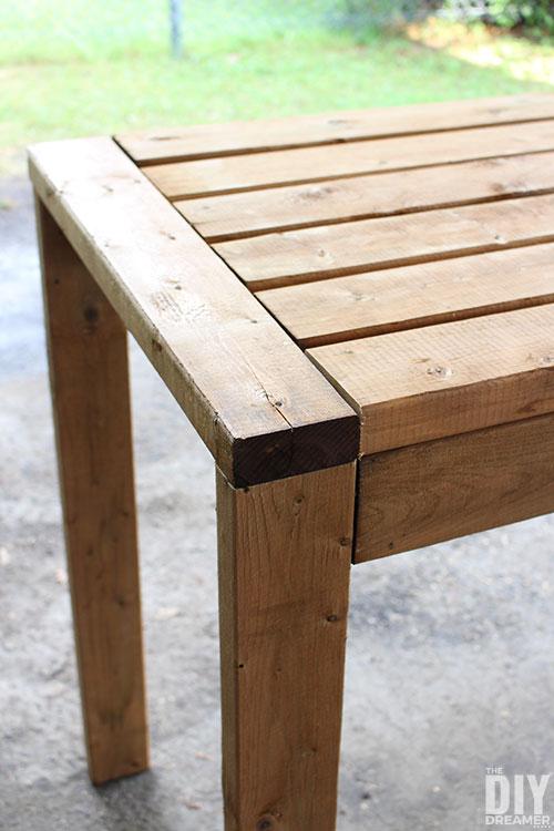 How To Build A 2x4 Outdoor Bar Table, Diy Outdoor Bar Top Table