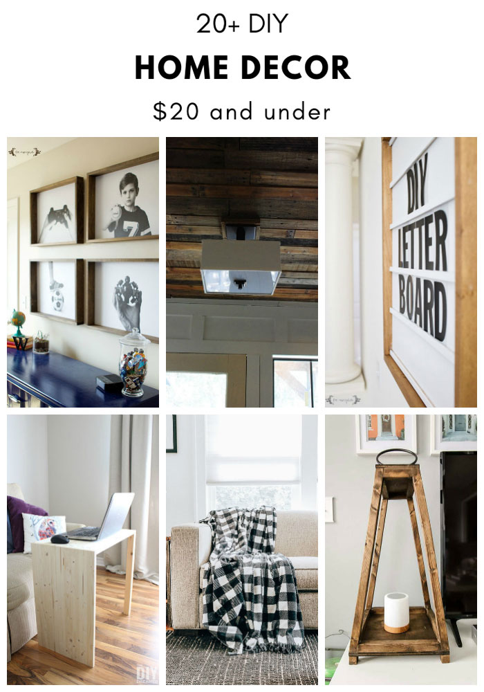 20 Diy Home Decor Ideas And Under The Dreamer