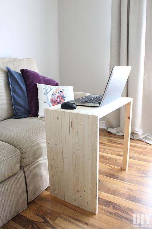 DIY Laptop Table built for $20.