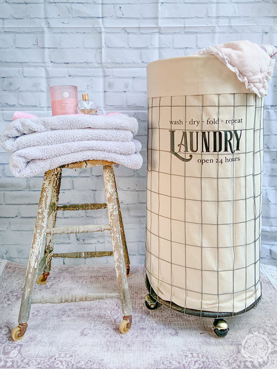 How to Build a Rolling Laundry Bin - Happily Ever After, Etc.