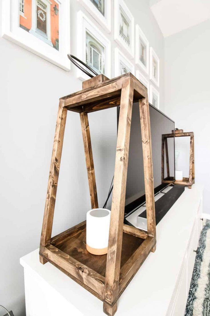 How to Build DIY Wooden Lanterns