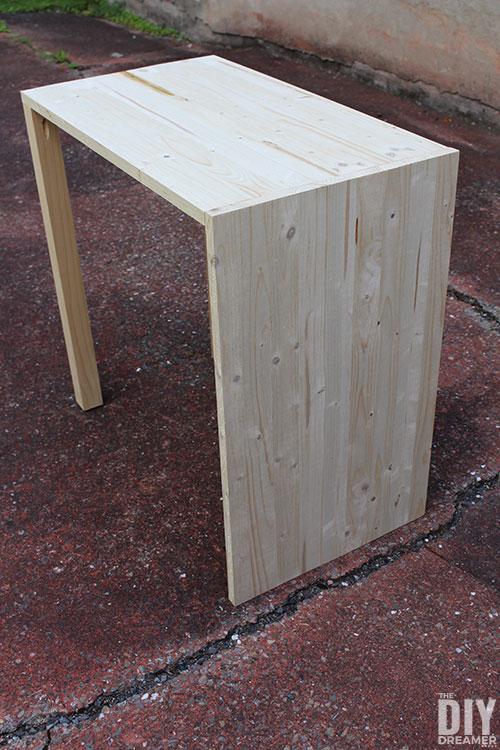 DIY Multipurpose side table.