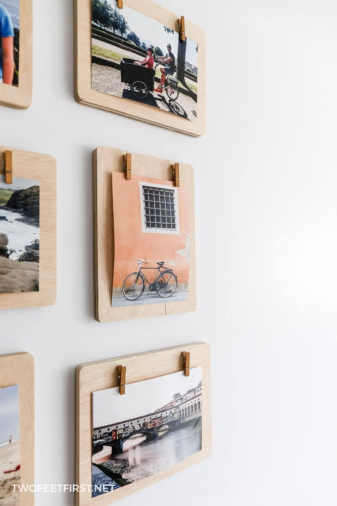 DIY Clipboard Frames | Clothespin Picture Frames