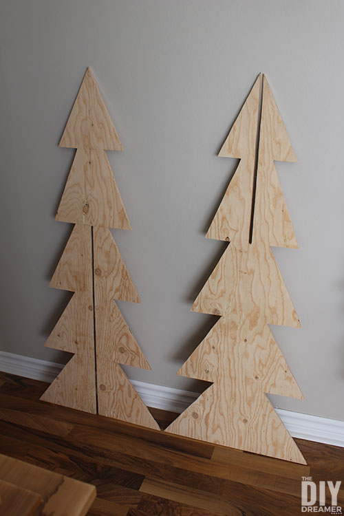 3D Plywood Tree Cut Outs